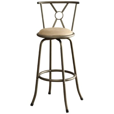 Kailee Adjustable Swivel Bar Stool