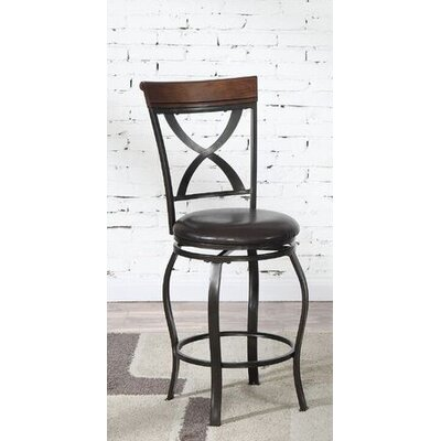 "Sade 24"" Swivel Bar Stool"