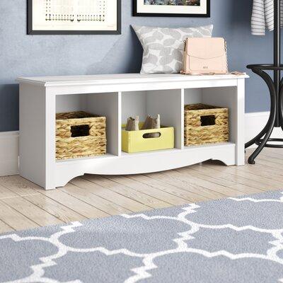 Hayman Storage Bench Color: White