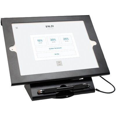 Dual Security Compact Kiosk Ipad Mounting System
