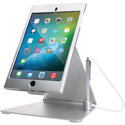 Desktop Anti-theft Ipad Mounting System Finish: Silver