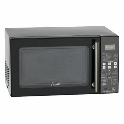 """Deluxe 18"""" 0.8 cu. ft. Countertop Microwave with USB Ports"""