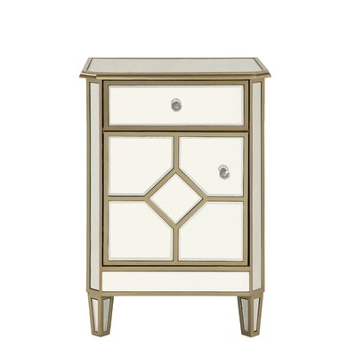Aponte 1 Drawer Accent Chest