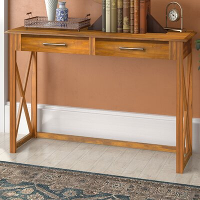 Stronghurst Console Table Color: Warm Brown