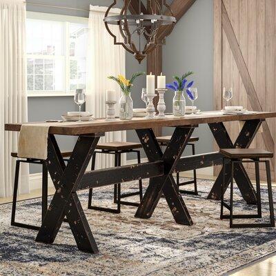 Courtney Gathering Table Size: Large