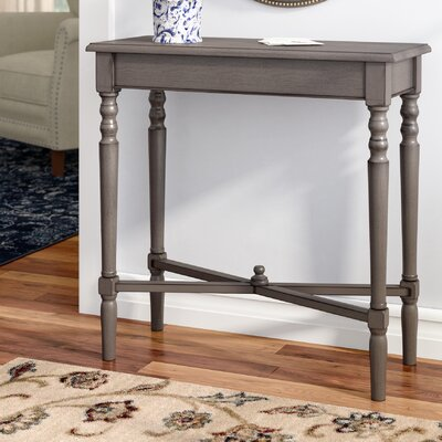 Euclid Console Table Color: Gray