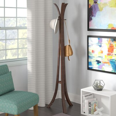 Wooden Coat Rack Finish: Cappucino