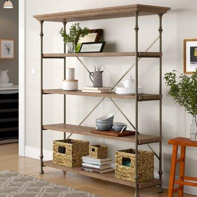 Deleon Etagere Bookcase Finish: Studio