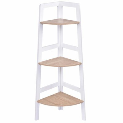 Butler 3-Tier Wood Ladder Wall Display Corner Unit