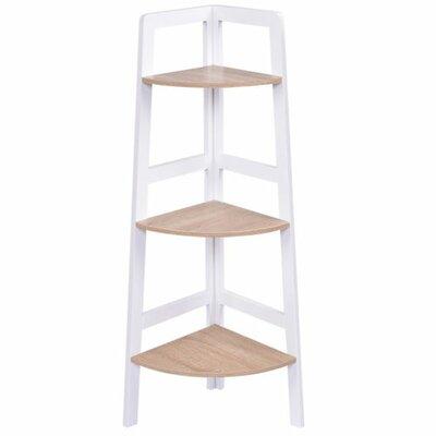 Butler 3-Tier Wood Ladder Wall Display Corner Unit