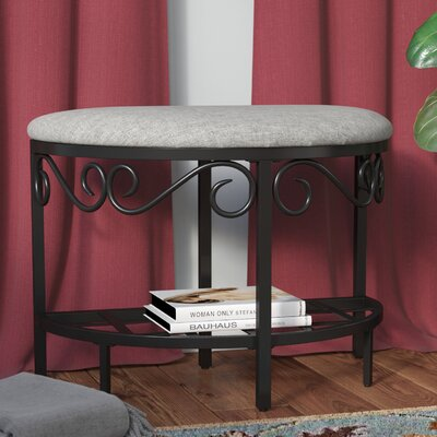 Barhorst Shoe Bench Color: Heather Gray