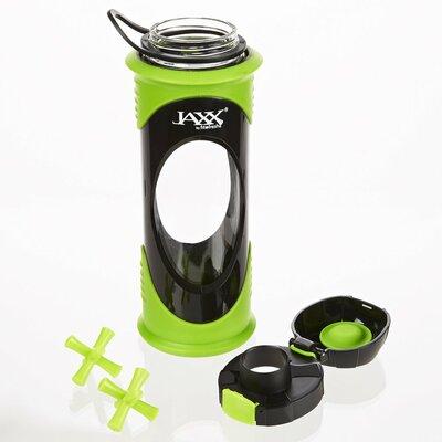 Jaxx Glass Shaker Bottle Color: Green