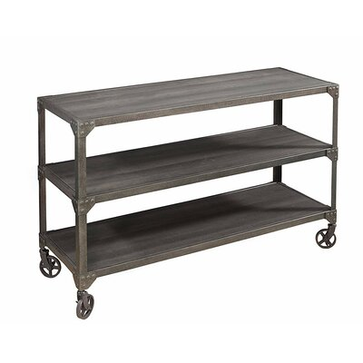 Damian Wood and Metal Loft Console Table