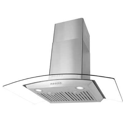"36"" 760 CFM Ducted Wall Mount Range Hood"