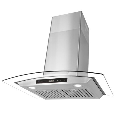 "30"" 760 CFM Ducted Wall Mount Range Hood"