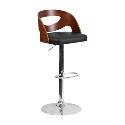Alberto Adjustable Height Swivel Bar Stool