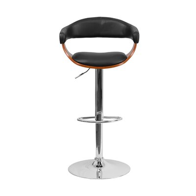 Julio Adjustable Height Swivel Bar Stool