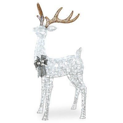 Pre-Lit Standing Buck Lighted Display