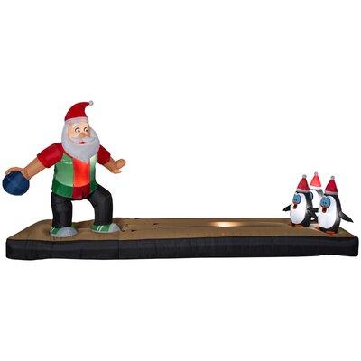 Bowling Santa Inflatable