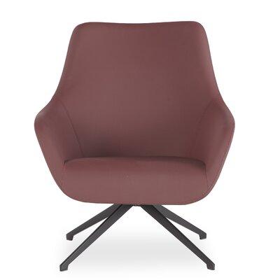 Brady Swivel Lounge Chair Seat Color: Rose