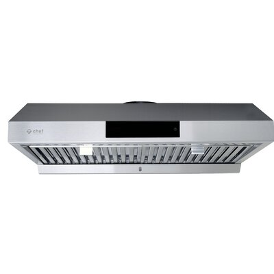 "36"" 860 CFM Ducted Under Cabinet Range Hood"
