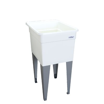 Utilatub 18'' x 24'' Freestanding Laundry Utility Sink