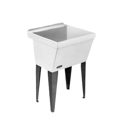 Utilatub 23'' x 23.5'' Freestanding Laundry Utility Sink