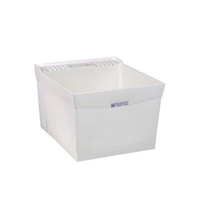 Utilatub 20'' x 24'' Wall Mount Laundry Utility Sink