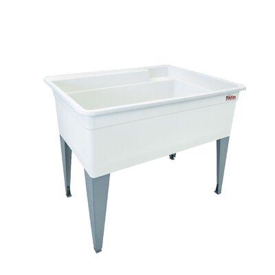 Utilatub 40'' x 24'' Freestanding Laundry Utility Sink