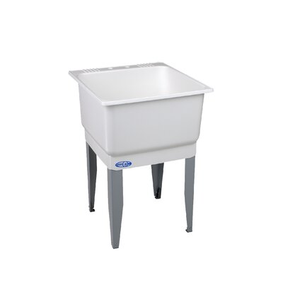 Utilatub 23'' x 25'' Freestanding Laundry Utility Sink
