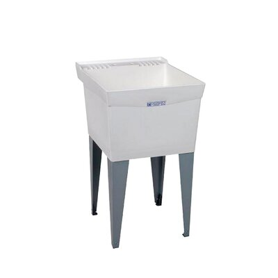 Utilatub 20'' x 24'' Freestanding Laundry Utility Sink