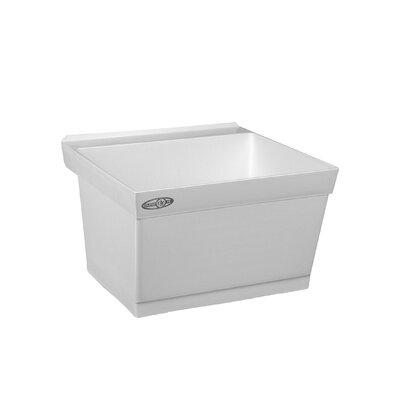 Utilatub 23'' x 23.5'' Wall Mount Laundry Utility Sink
