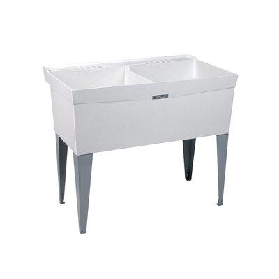 Utilatwin 40'' x 24' Freestanding Laundry Utility Sink