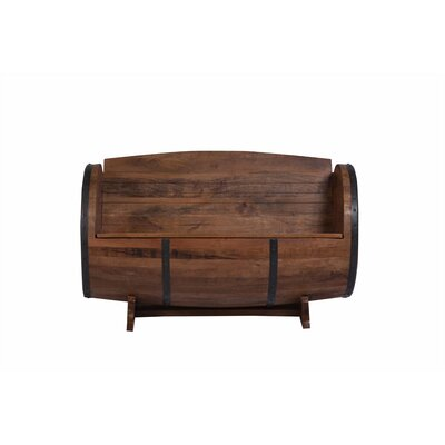 Wakefield Wood Storage Bench