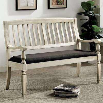 Elena Loveseat Upholstered Bench
