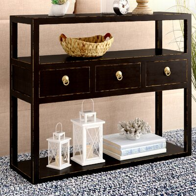 Eastwood Console Table Color: Black