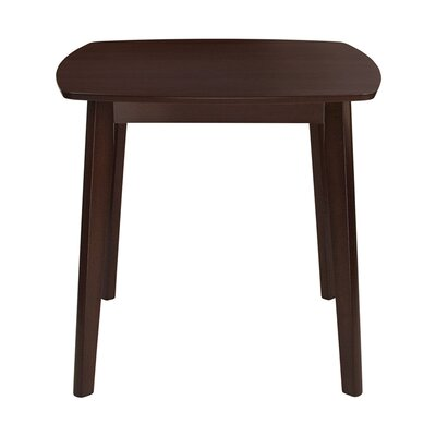Crowe Counter Height Dining Table Color: Espresso