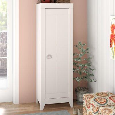 Orville 1 Door Storage Cabinet Color: Cobblestone