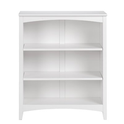 Mccrory Standard Bookcase Color: White