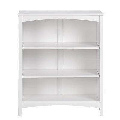 Mccrory Standard Bookcase Color: White