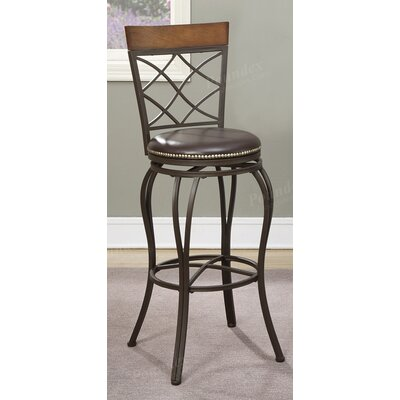 "Timmons 29"" Swivel Bar Stool"