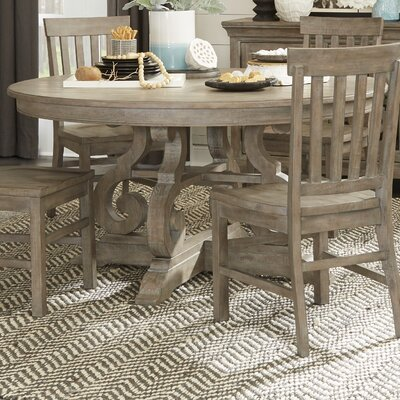 """Roswell Dining Table Size: 30"""" H x 60"""" L x 60"""" W"""