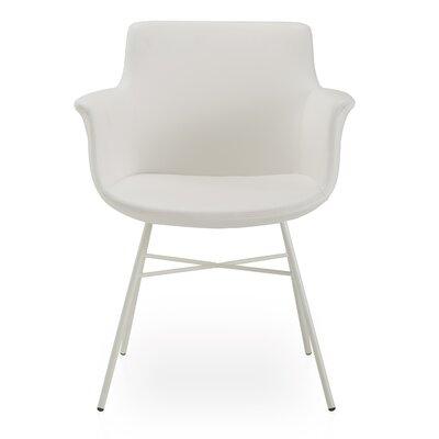 Oakden Armchair Upholstery: White