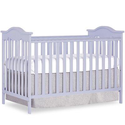 Bella Rose 2-in-1 Convertible Crib Color: Lavender Ice
