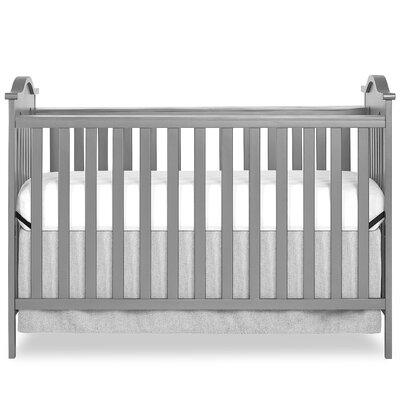 Bella Rose 2-in-1 Convertible Crib Color: Gray