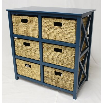Overstreet 3 Tier X-Side Storage Accent Chest