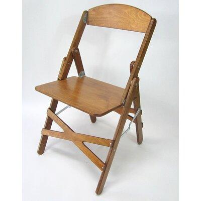 Wood Folding Chair Color: Warm Oak
