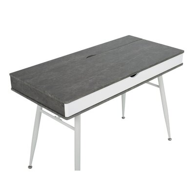 Alcove Writing Desk Top Color: Cement
