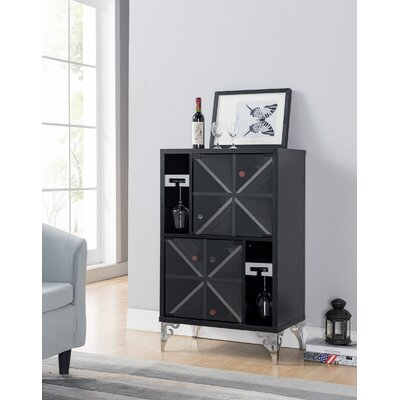 Harbor Wine Bar Cabinet