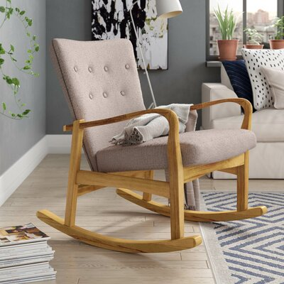 Welke Rocking Chair Fabric: Wheat